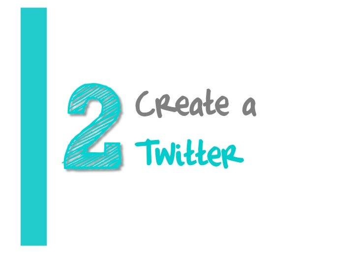 Create a Twitter