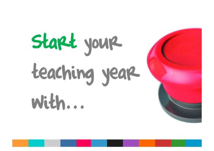 Start your teaching year with...