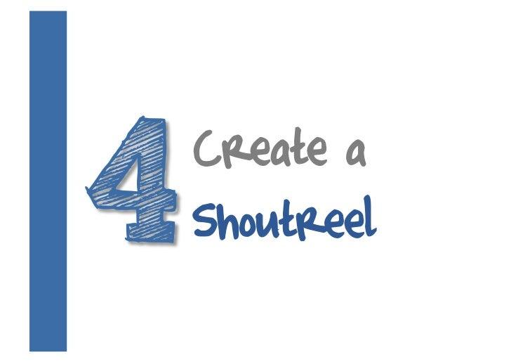 Create a Shoutreel