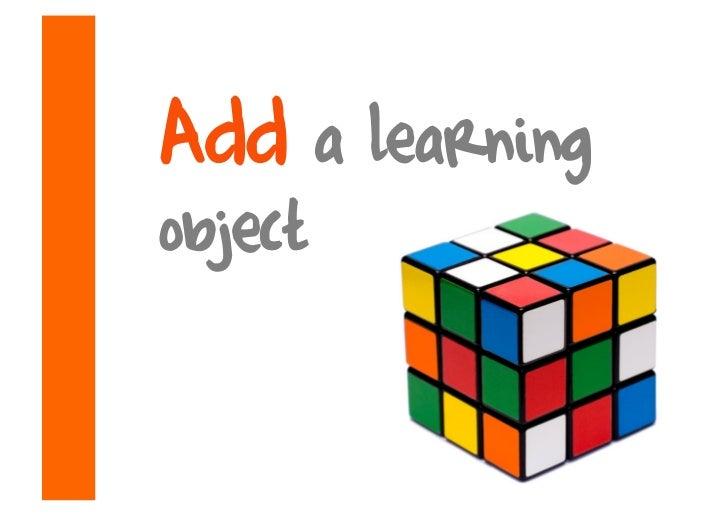Add a learning object