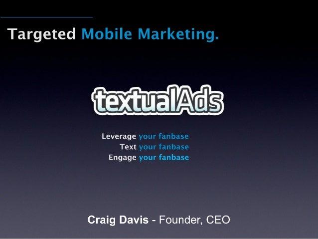 TextualAds Presentation