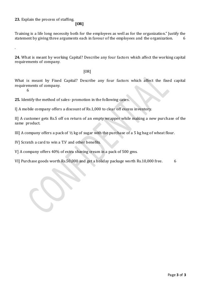 sample paper of business studies for class 5 3