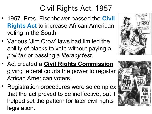 An introduction to the history of the civil rights bill