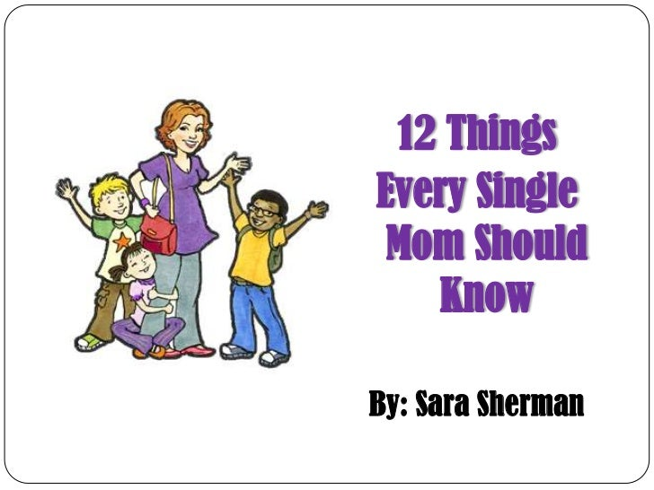 Things to know about dating a single mom