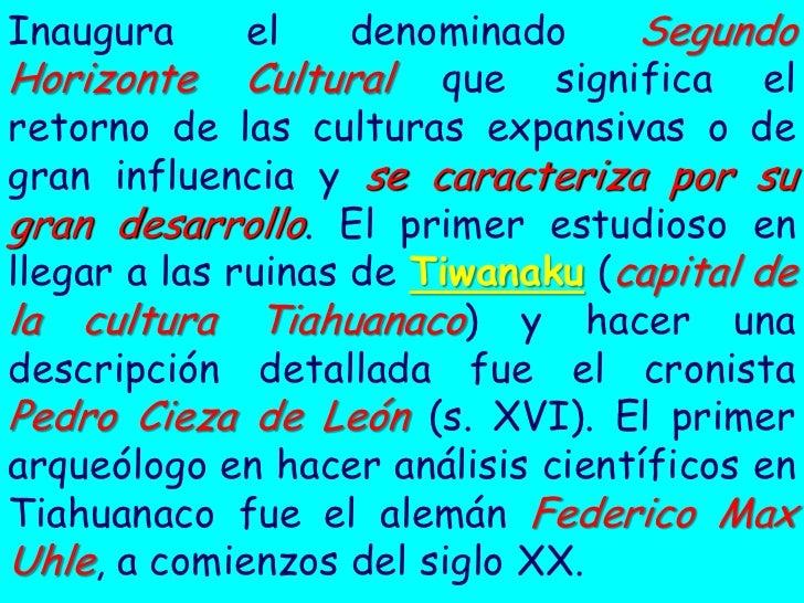 12 TIAHUANACO Slide 2