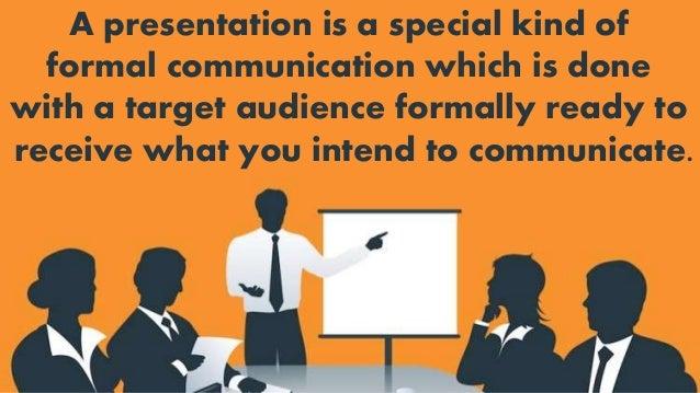 spoken presentation