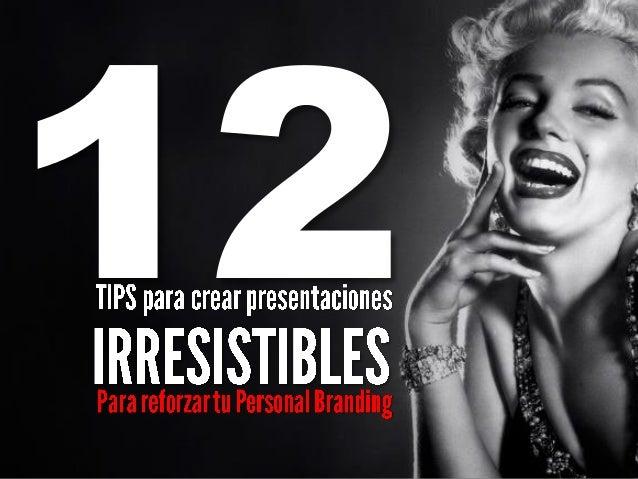 Personal Branding Tools by Esmeralda Díaz-Aroca: presentaciones seductoras