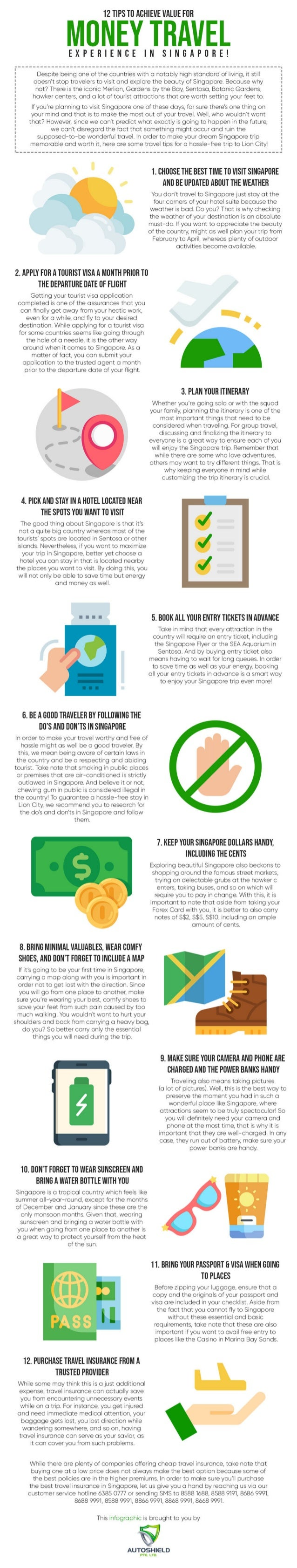 12 tips to achieve value for money travel experience in singapore!