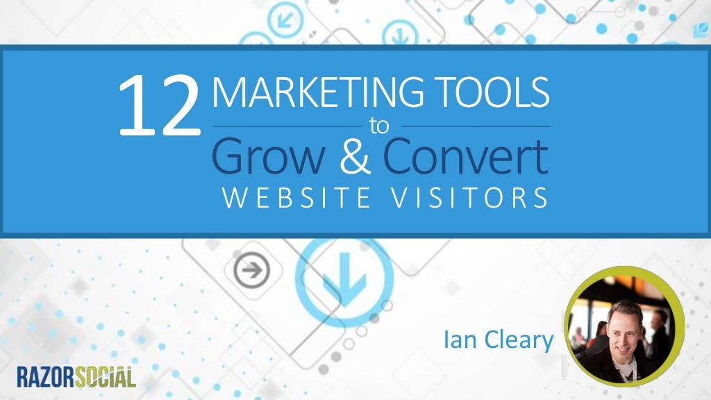 12 tools to grow and convert your website visitors