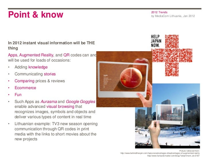 2012 TrendsPoint & know                                                                          by MediaCom Lithuania, Ja...