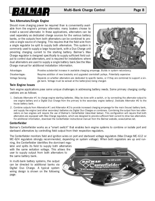 Balmar regulator wiring diagram