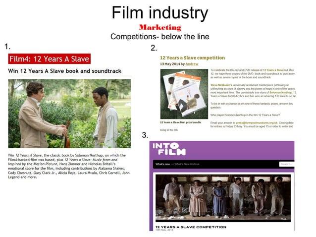 Film Industry Marketing Facebook Twitter Social media- below the line
