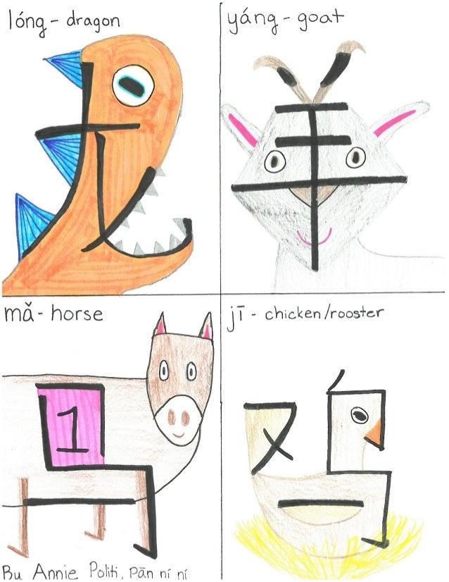 12 Zodiac Animals Hanzi Re-creation  Slide 3