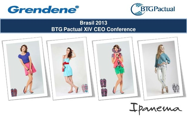 Brasil 2013BTG Pactual XIV CEO Conference