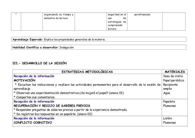 SESIÓN PROPIEDADES GENERALES DE LA MATERIA-LECTURA-5º Slide 2