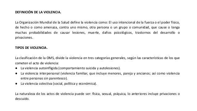 (13 04-2021) Violencia intrafamiliar y violencia de genero, manejo en el ambito sanitario Slide 2