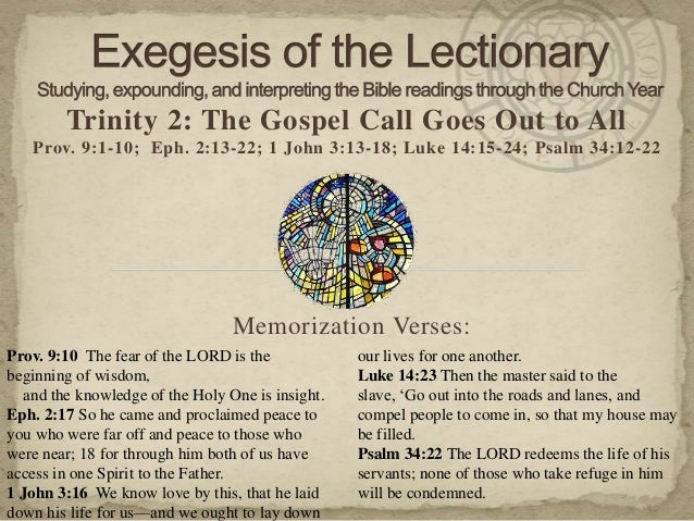 13 06 07 exegesis trinity 2