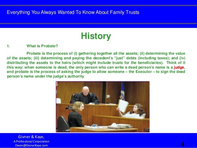 Everything You Always Wanted To Know About Family Trusts ...