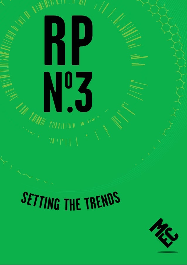 RP    N .3oSe t ting t e trends           h                       RP NO.3 1