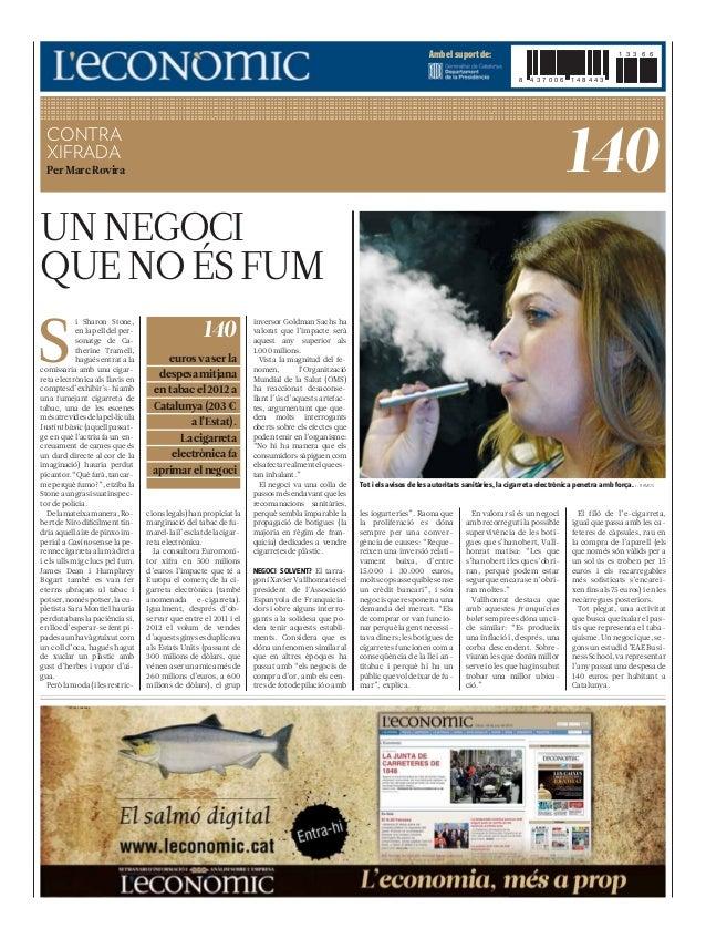 El gasto en tabaco (L'Economic)