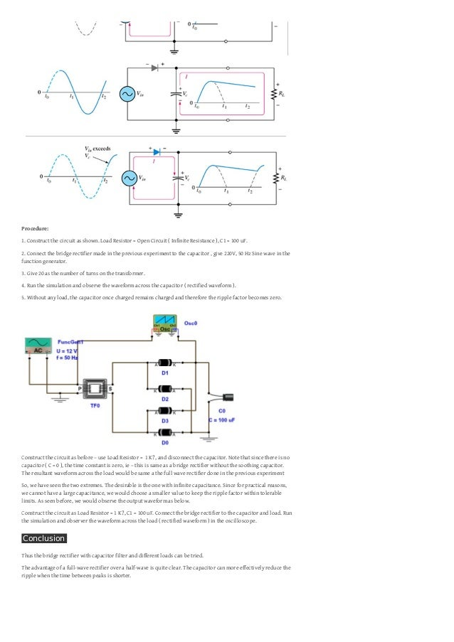 Bridge rectifier with capacitor filter diode 2 asfbconference2016 Choice Image