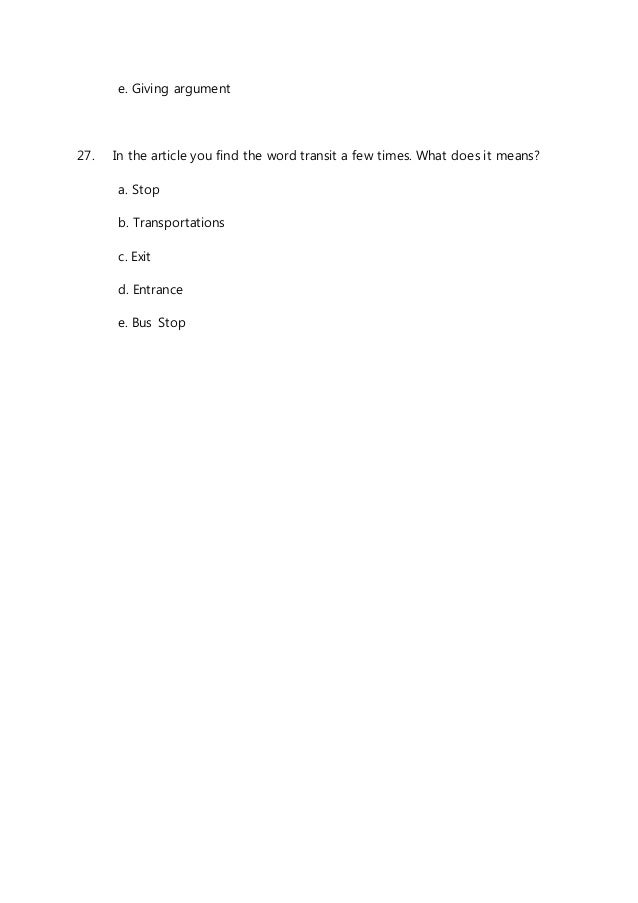 Soal Un Bahasa Indonesia Matematik Bahasa Ingris