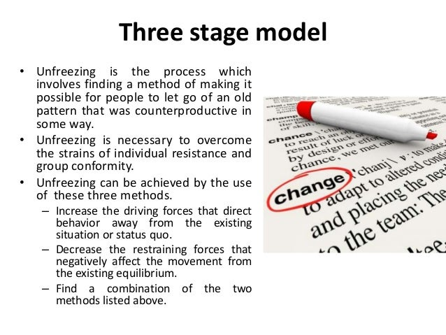 lewins model of organisational change Models of organizational change 1517 words   7 pages organizational models of change olympia ross grand canyon university organizational development and change ldr-615 dr jerry griffin august 14, 2013 organizational models of change organizational change is occurring at an intense rate within modern organizations, as demands to stay current with technology and marketplace trends are ever.