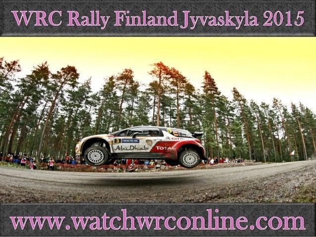 """WRC Rally Rlmlamdl Jyyaakyla 2(0) l5         '. '--. z:-  A T l""""""""r'~ —*""""""""  yWWyowat©hy'W©@Io1llIa@o©©m"""