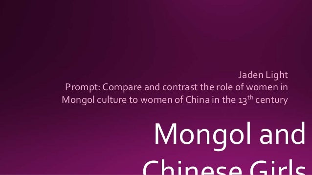 mongol compare and contrast Compare and contrast the mongol empire and the arab empire - 2988080.