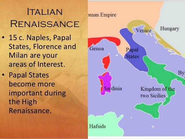 13 high renaissance 16th c italy