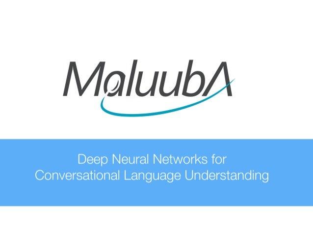 Kaheer Suleman, CTO, Maluuba at MLconf NYC - 4/15/16