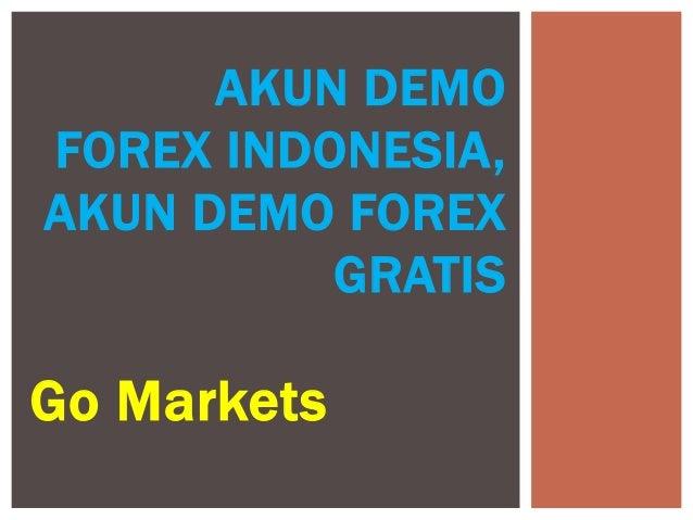 akun demo trading - Forex Demo