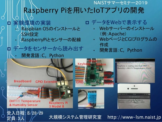 Mous eKeyboar d Ethern et Displ ay Power SupplyGPIO DHT11 Temperature & Humidity Sensor Raspberry Pi 3 Model B Breadboard ...