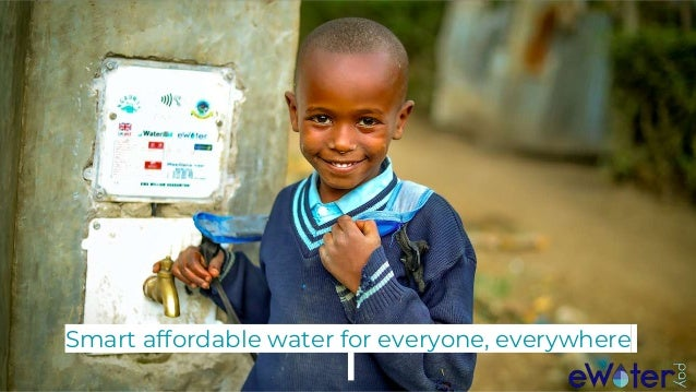 Smart affordable water for everyone, everywhere