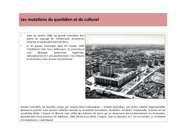 Les  muta)ons  du  quo)dien  et  du  culturel   • Dans   les   années   1960,   les   grands   ...