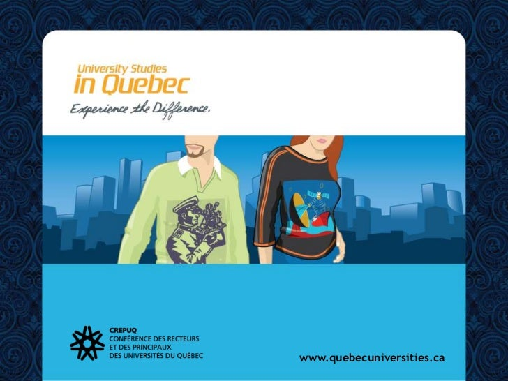 www.quebecuniversities.ca<br />