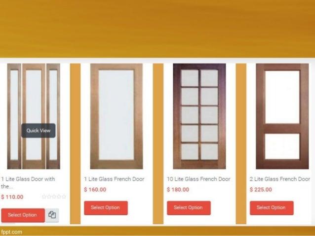 2 panel door u2022 4 panel doors ... & Glass internal doors Melbourne