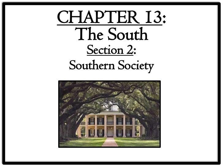 13 2 southern society