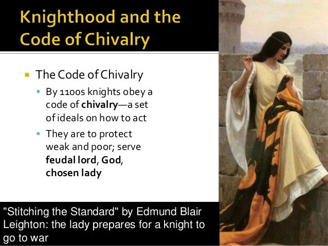 meaning of chivalry in the middle ages