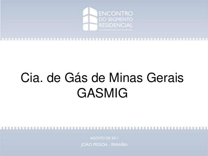 Cia. de Gás de Minas GeraisGASMIG<br />