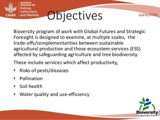 13 bioversity plan for gfsf Slide 2