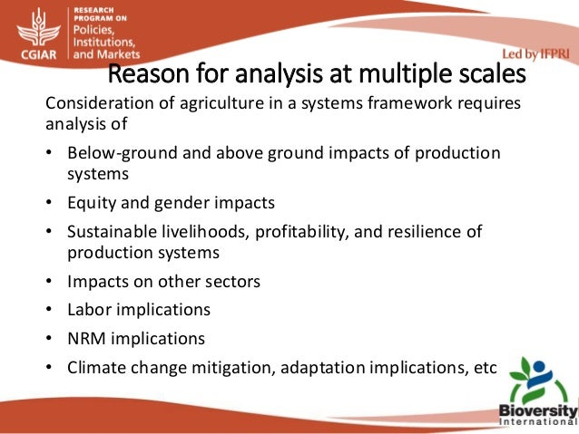 13 bioversity plan for gfsf Slide 3