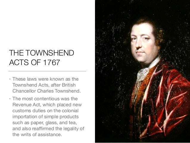 Talk:Townshend Acts