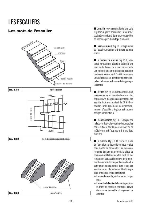 LES ESCALIERS                                                                                                 ■ L'escalier...