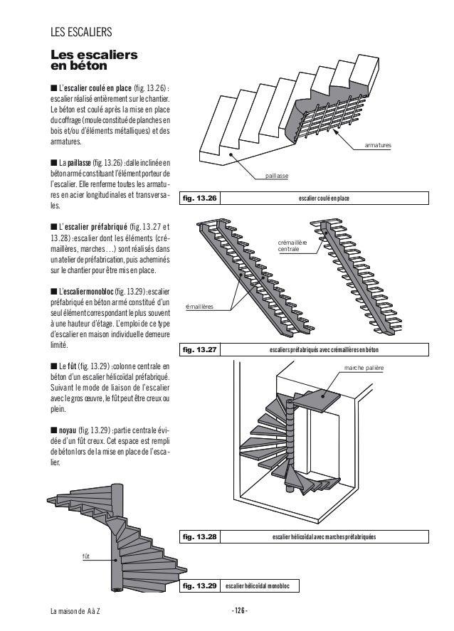 13 escaliers for Beton coule en place
