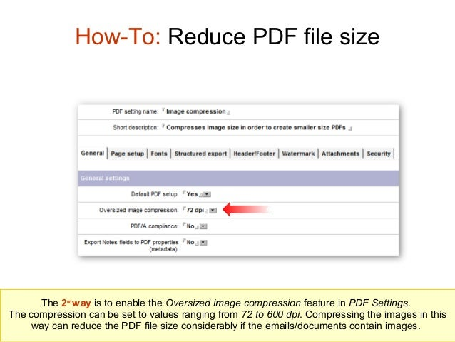 How to reduce the pdf file size how to reduce pdf file size ccuart Images