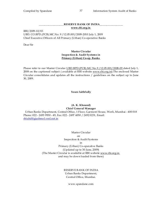 information system audit in indian banks I need a format of information system audit report for banks if some one have  kindly provide thanks regards ca sanjeev kumar nehra - information system.