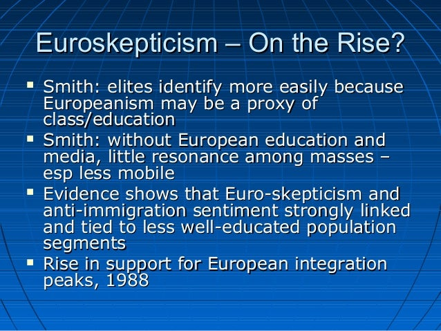 Nationalism and european unity euroskepticism publicscrutiny Choice Image