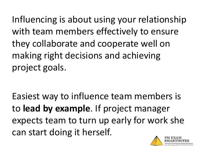 Keep teams interest in mind while makingdecisions and let them know. Whendecisions do not go in their favor, theywould res...