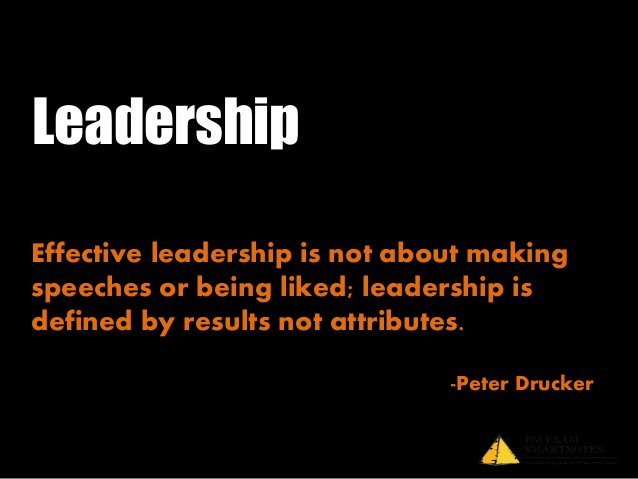 Leadership is an essentialcharacteristic of project manager.PMBOK® defines leadership as theability to get things done thr...